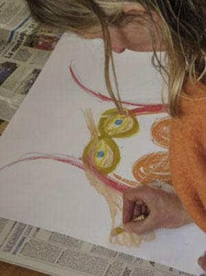formation neurosciences, neurodanse, accomapgnement solo entrepreneur, life art process, art thérapie, danse thérapie, formation cerveau, processus de changement, Intermodalité artistique le dessin - Béatrice Maine