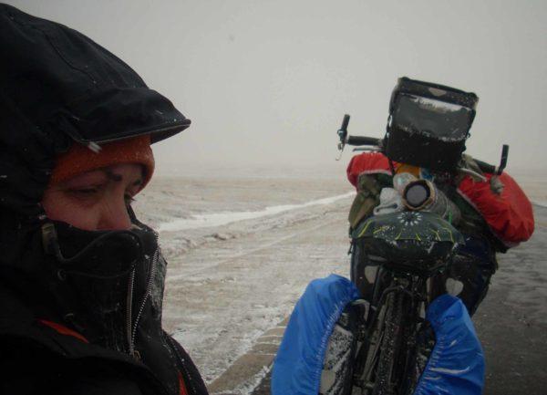 Béatrice Maine, tibet, tour du monde à vélo