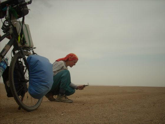 Beatrice maine Tour du monde à vélo Mongolie Silence