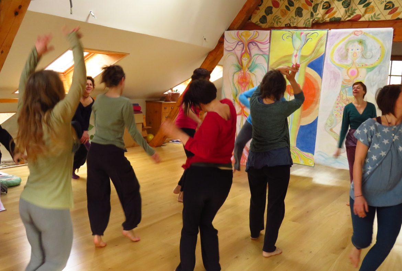 Neurosciences et danse et créativité, life art process, art thérapie